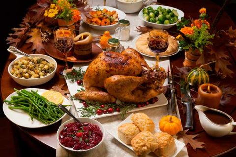 Bring your favourite food, or the traditional food from your country! International Thanksgiving in Madrid