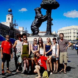 what to do in Madrid - free tour