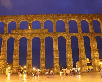 Madrid Segovia - acueducto