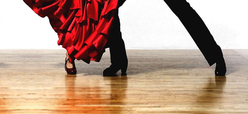 Flamenco show Madrid-dancers