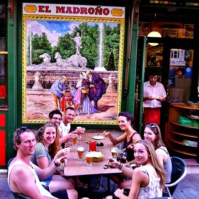 Flamenco show Madrid-Madrono_bar
