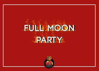 Madrid Events - Full Moon Party
