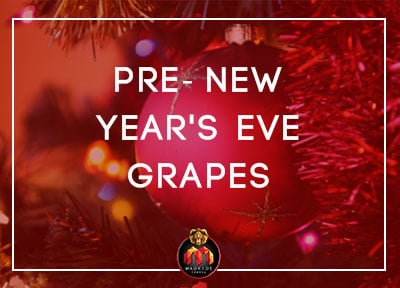 Madrid Events - Pre new year's eve grapes