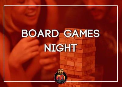 Board Game Bar Nights