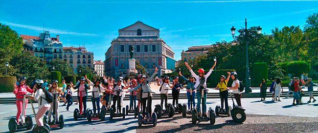 Segway Madrid Tour