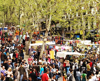 Rastro Market Madrid
